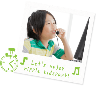 Let's enjoy ripple kidspark!