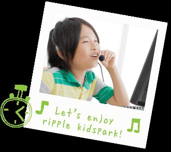 Let's enjoy ripple kidspark!